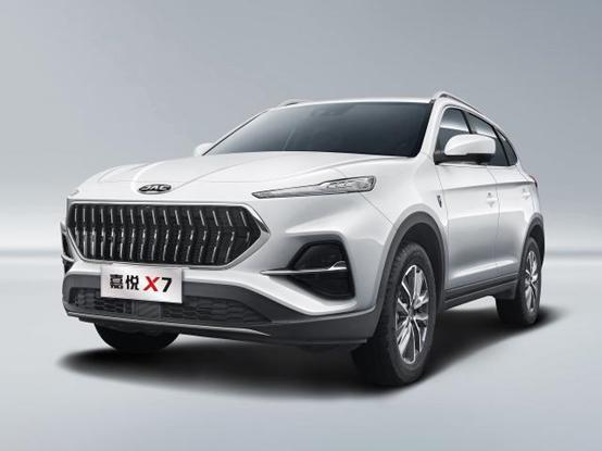 全新SUV车型嘉悦X7,震撼上市