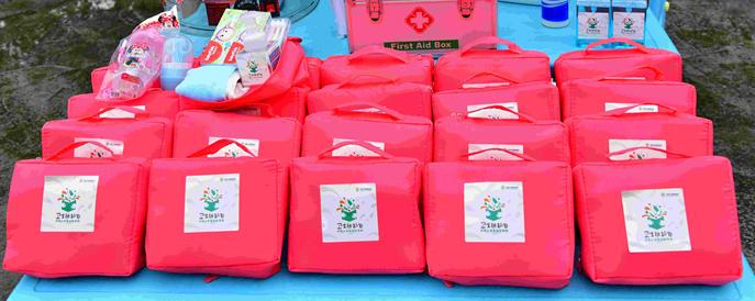 驰援河南 安利捐赠135万元儿童卫生防护包